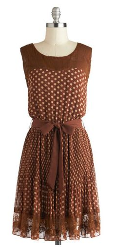 Spotted dress....Love!