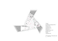 Three Ancestors Cultural Museum,Ground Floor Plan