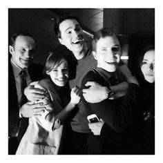This cast is like one big happy family...until one of them turns into hydra
