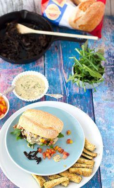 Burger-Mania: Burger mit Lamm und Baguette (enthält Werbung)