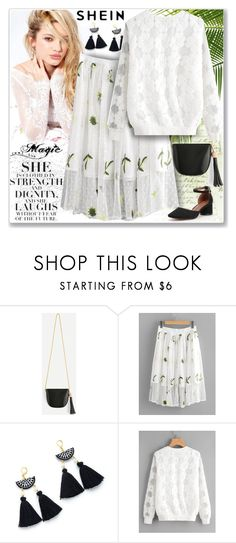"""""""shein-8"""" by ane-twist ❤ liked on Polyvore featuring Silvana, shein and easydresses"""