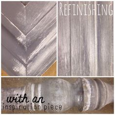 Loveleigh Creative Soul provides a tutorial using Country Chic Chalk Paint and Furniture Wax to create a simple aged appearing finish