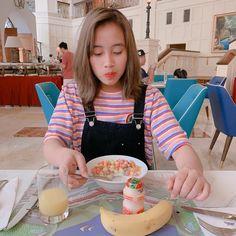 Pancakes, People People, Breakfast, Korea, Random, Food, Girls, Anime, Morning Coffee