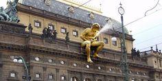 La fontaine… Appelez ça comme vous voulez. République Tchèque