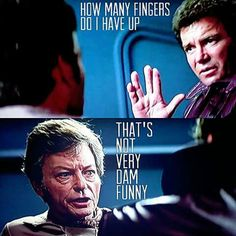 How many fingers am I holding up?  Star Trek III (3): The Search for Spock