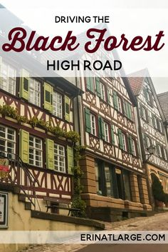 The Black Forest High Road via @erinehm