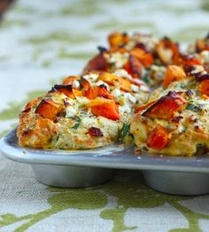 Cheesy Savory Butternut Squash Muffins - requires a few more ingredients... maybe another week!!