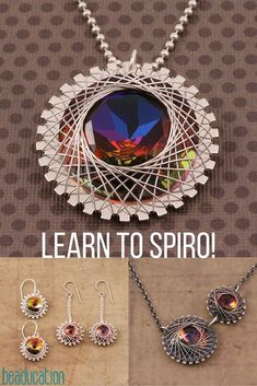 So you love Swarovski and Spiro? We got you covered :) Learn how to make this renaissance style necklace. Great for gothic, steampunk and so much more depending on your style. Share your creation with us! #beaducation