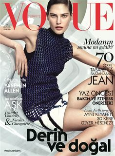 Vogue Türkiye Nisan 2015 / April 2015 #magazine #magazinecover