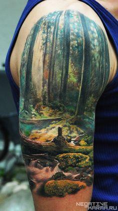 Works color   Авторский сайт мастера татуировки Дена Яковлева