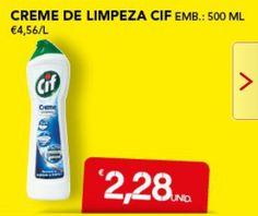 #creme #limpeza #cif #50% #W33 #sonae