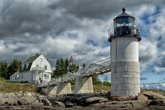 Marshall Point Lighthouse, Port Clyde, Maine by Lori Labrecque