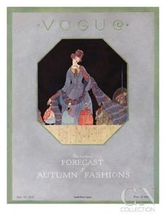 Vogue Cover - September 1908 Regular Giclee Print