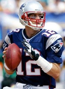 Tom Brady (1 of the best QBs ever/1st ballot hall of famer)