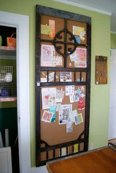 Repurpose an old door. Idea #11.