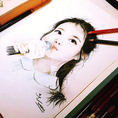 Since i like IU,i like to stalking her fanart too Eonni @dlwlrma  Source = tumblr  #scarletheartryeo #moonlovers #Leejieun #leejoongi #leejunki #iu #dlwlrma #actor_jg Scarlet Heart Ryeo, Lee Joongi, Moon Lovers, Color Pencil Art, Kpop Fanart, Colored Pencils, Art Girl, Sketches, Photo And Video