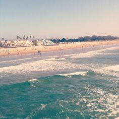 Pismo Beach, California. If it could be spring break now so I can be here...that'd be great.