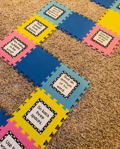Life-Size Board Games for Teaching Multiple Concepts- Kristy Larreategui- Toddler Board Games, Old Board Games, Board Games For Kids, Game Boards, Candyland Board Game, Life Board Game, Game Of Life, Life Size Games, Leadership Games