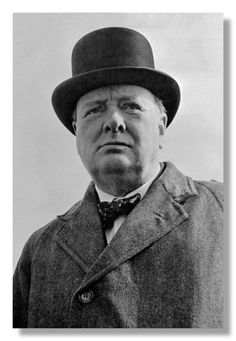 p115 Sir Winston Churchill postcard