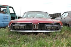 1967 Mercury Cougar....winking at you.