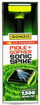 Gonzo 100518443 Solar Mole and Gopher Repeller >>> Visit the image link more details.