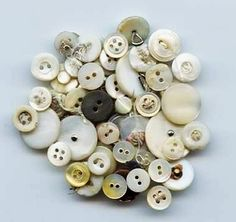 0302 Vintage MOP Buttons by lostartcreations on Etsy, $8.00