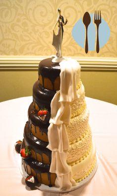 Pin By TheSuperRedneck On Random Stuff Pinterest Random Stuff - His And Hers Wedding Cake