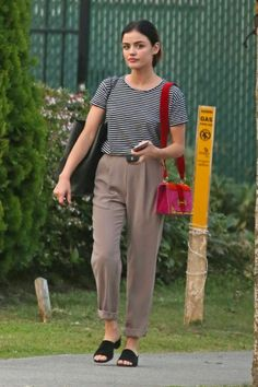Lucy Hale out & about in Vancouver