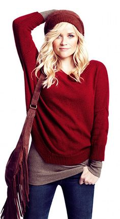 Reese, you are just cute no matter what you do! I love everything about this outfit AND her hair is gorgeous.