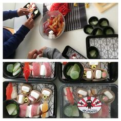 Godis sushi!