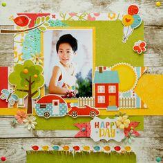 『Happy day』by Miyuki Kawakami