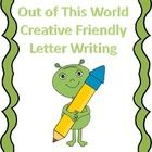 This is a fun creative way to incorporate descriptive writing with friendly letter writing. The students are asked to pretend they are an alien fro...