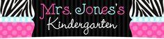 Mrs. Jones's  Kindergarten: Lots of fun ideas!