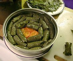 I have been making Grape Leaves for over 12 years, I learned from my aunt who is from Syria. My aunt always uses a pressure cooker.  - Grape Leave under pressure