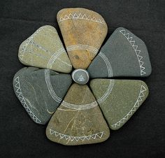 Inspire Bohemia -Painted Rocks - tons of inspiring examples at this website.