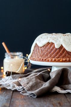 The perfect mix of nice and naughty in this festive Rum & Eggnog Bundt.