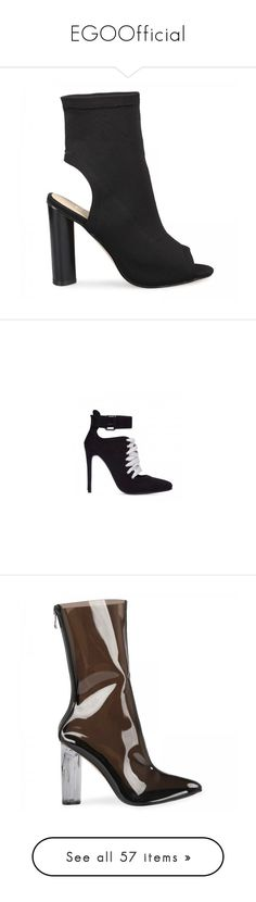 """EGOOfficial"" by sc-styles ❤ liked on Polyvore featuring shoes, knit shoes, black shoes, kohl shoes, peep toe shoes, black peep toe shoes, flat pumps, flat pump shoes, flat heel shoes and flat shoes"