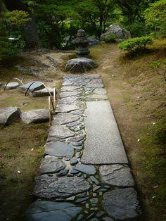 The Nobedan stone pavement