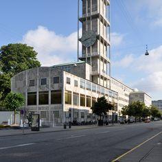 Aarhus City Hall designed by Arne Jacobsen