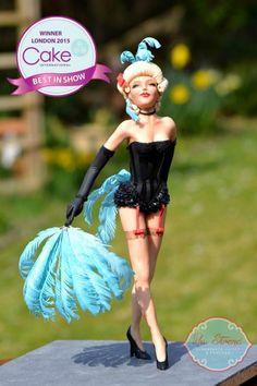 Lola the Sugar Showgirl - Cake by Rhu Strand
