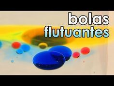 Bolas Flutuantes Coloridas Experiencia De Fisica Projetos De