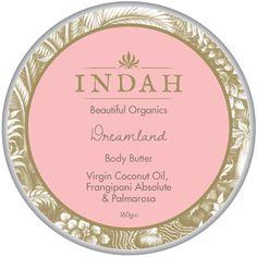 Indah Organic healing body butter // follow us @indahorganics