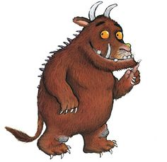 The Gruffalo Song by Julia Donaldson. The Gruffalo is an AWESOME book, and movie and now a cute song The Gruffalo Song, Gruffalo Party, Gruffalo Characters, Book Characters, Gruffalo Activities, Book Activities, Art Sub Lessons, Art Sub Plans, Story Sack