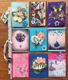 Kianna's Blog: Inhaalslag Pocket Letters deel I. Vlinders, Butterflies.