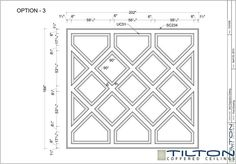 Coffered Ceiling Design.  Add curved perimeter and appropriate dimmensions...good placement working from center.