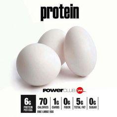 Hoy Día del #Huevo los recomendamos como alimento con mucha proteína @powerclubpanama #YoEntrenoEnPowerClub