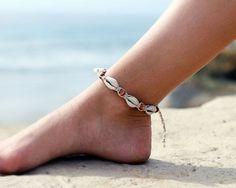 Ankle Bracelet Anklet hennep kauri Shell Anklet Boho