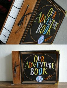A real life 'Up' adventure book.. Love it!