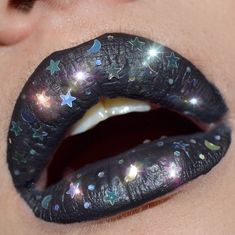 """86 Likes, 11 Comments - Heather Nyree✨ (@heathernyreebeauty) on Instagram: """"✨ LIPTEMBER ✨ day 4: create your own lip art  I used @katvondbeauty liquid lip 'witches' and…"""""""