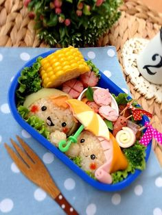 Rainy season bento (image only + lots of other bento images on this site)